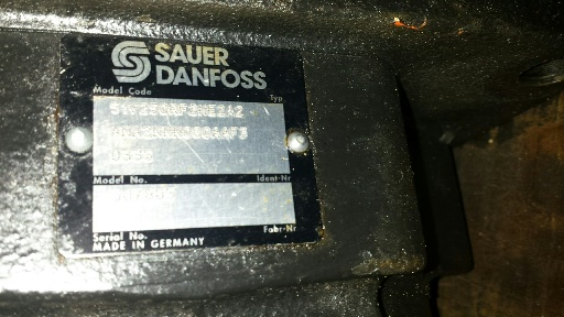 Sauer Danfoss 51v250rf2ne Motor Hidr Ulico